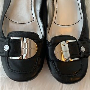 Marc Fisher Shoes - Marc Fisher Black Leather Flats Sz 10